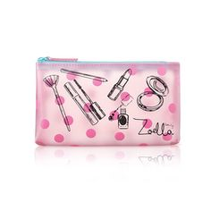 Zoella Beauty Pnk Frosted Cosmetc / Con Purse / Make Up Bag Makeup Pouch, Cosmetic Pouch, Makeup Bags, Buy Makeup, Cosmetic Storage, Creative Birthday Gifts, Friend Birthday Gifts, Trousse Make Up, Youtuber Merch
