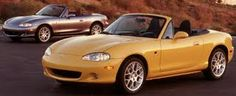 Mazda Miata. I always wanted one of these when I was little. Always been a Mazda girl :)