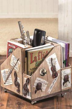 DIY: Stehsammler-Kombi mit Decoupage  Mit Anleitung…