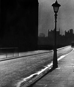 Bill Brandt: Deserted Street in Bloomsbury, 1942