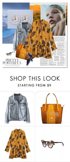 """""""Personal style"""" by undici ❤ liked on Polyvore featuring Leatherbay, Maje, urban, MyStyle, falltrend, zaful and fall2017"""
