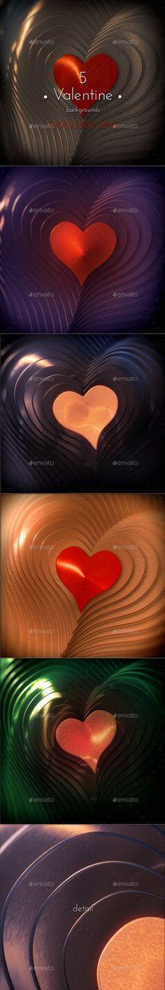 Valentine Backgrounds by cinema4design Valentine Hearts Metal collection Backgrounds. 5 hi-res JPG images.3500×3500 (square format), 72 DPI.