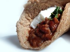 Low-Carb Protein Wraps - with 'Chili Con Carne' - Protein Pow