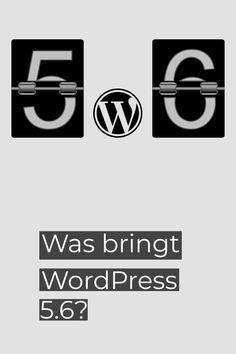 Anfang Dezember erscheint Version 5.6 von WordPress. Damit ist es Zeit, einen Blick auf den ersten Release Candidate zu werden. Was bringt die neue Version? Logos, December, Interesting Facts, Tips, Logo