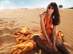 50 Decadent Desert Shoots - From Exotic Dust Bowl Editorials to Prickly Fashion Pictorials (CLUSTER)
