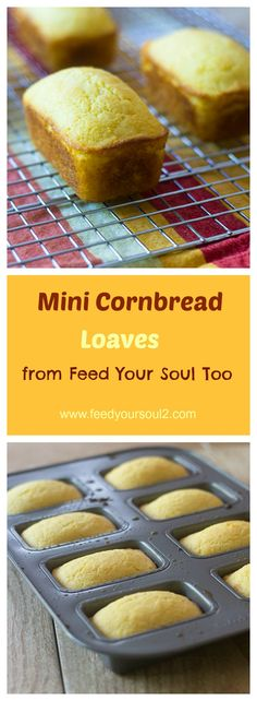 Easy Mini Cornbread Recipe from Feed Your Soul Too