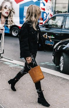 Fashion People Can't Stop Wearing This Challenging Trend via @WhoWhatWear