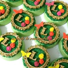 Enchanted butterfly garden chocolate covered oreos