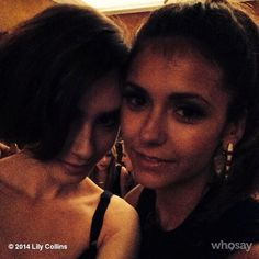Avec @ninadobrev in Paris. When in the city of lights...