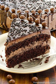 The BEST Chocolate Cake