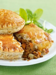 Cornish Pasties - A traditional British favorite reimagined with Quorn