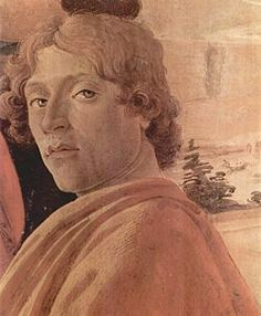 """Self portrait of Sandro Botticelli. """"The powerful brotherhood created by Lorenzo and Sandro would begin the revolution into a golden age of art and education. The mission was the restoration of the true teachings of the early Christians through epic works of art."""" Kathleen McGowan, The Poet Prince"""