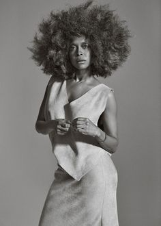 fashion is what's in. style is what is. • erykah badu • photo: graeme mitchell • w