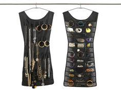 Little Black Dress Jewelry Organizer @aubreyhayes hahaha