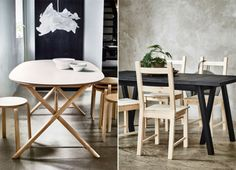 New Ikea dining tables