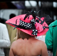 Kentucky Derby hat #DerbyExperiences
