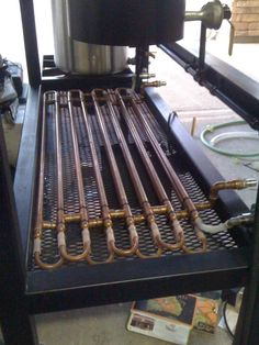 BYO Double Pipe Wort Chiller - Home Brew Forums. Very cool!