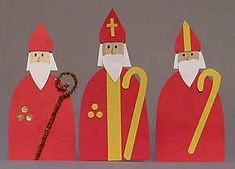 Everyone knows Santa Claus, but how well do your students know Saint Nicholas? Create these Saint Nicholas figures with simple materials, and teach your students about the real life saint and his w… Christmas Nativity, Christmas Art, Nativity Crafts, Primitive Crafts, Primitive Christmas, Retro Christmas, Country Christmas, St Nicholas Day, Crafts For Kids