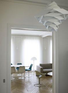 Design Hub - блог о дизайне интерьера и архитектуре: Квартира в Париже