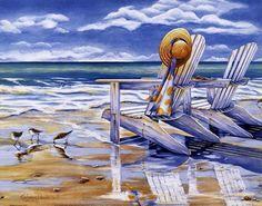 Seaside II Fine-Art Print by Kathleen Denis at UrbanLoftArt.com