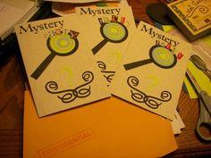 mystery party invitations