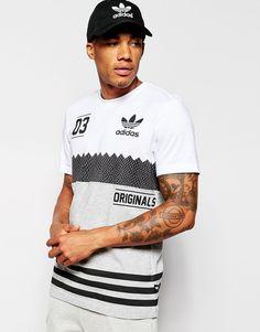 Image 1 ofadidas Originals Block T-Shirt