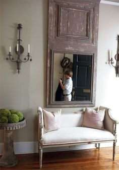 love the mirror and sconces sconces+brie+williams+photographer+charleston+magazine.jpg 350×500 pixels