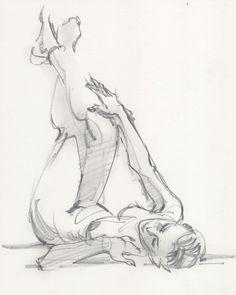 The beautiful @mirandaalamode from last night at #losfelizlifedrawing #art #lifedrawing #drawing #gesture #gesturedrawing #sketch #sketching #sketchbook #practice #bruteforcemethod #experteezzz #choonhachat