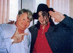 Michael Jackson and Benny Hill.