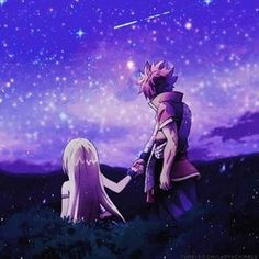 Fairy Tail - Lucy and Natsu Fairy Tail Lucy, Natsu Fairy Tail, Fairy Tail Amour, Art Fairy Tail, Fairy Tail Quotes, Anime Fairy Tail, Image Fairy Tail, Fairy Tail Family, Fairy Tail Guild