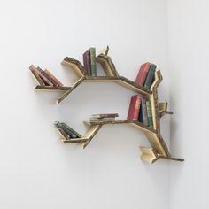 mini branch corner shelf product image
