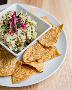 Seafood ceviche with whitefish, cucumber, green apple, radish, jalapeño & lime Seafood Ceviche, Sour Plum, Lunch Delivery, Greens Restaurant, Whitefish, Hors D'oeuvres, Breakfast Burritos, Menu Items, Urban Farming