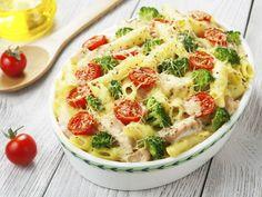 Výborný recept na zapečené těstoviny plný barev a skvělé kombinaci chutí!
