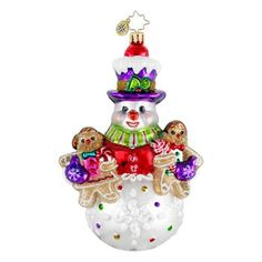 One Sweet Trio-1016172  Radko Candy and Sweets Ornament collection