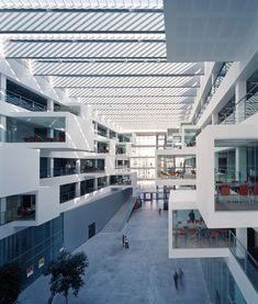 Interior of the IT University of Copenhagen. Henning Larsen Architects. #ITU #Copenhagen: