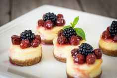 Cheesecake is the ultimate rich, decadent dessert, best served in small portions. Rather than making a single large cheesecake, bake individual single-serving desserts in...