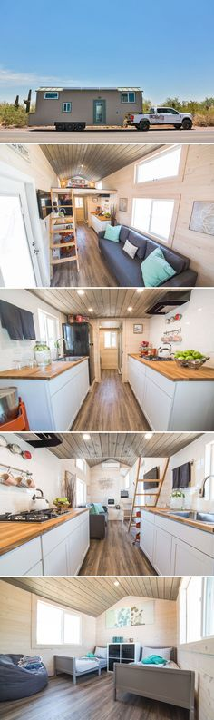 Bunkhouse by Uncharted Tiny Homes &; Tiny Living Bunkhouse by Uncharted Tiny Homes &; Tiny Living Alexa Arpoika lexaluey Tiny house living With its master loft and separate […] Homes For Families with kids Tiny House Layout, Tiny House Design, House Layouts, Small Room Design, Kids Room Design, Tiny House Plans, Tiny House On Wheels, Tiny House Nation, Tiny House Movement