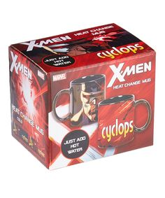 X-Men Cyclops Heat-Changing Mug