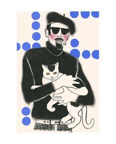 A Couple of Col Cats - by Matou en Peluche