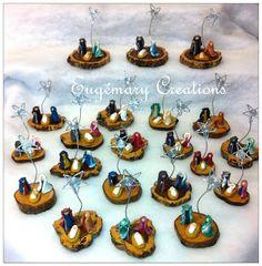 Eugémary Creations ®: Mini presépios