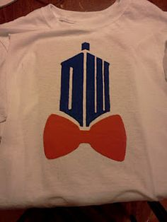 Doctor Who Shirt Logo with Bowtie - So Cool!