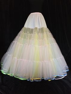 Satin Bound Luxury Custom Made Soft tulle Floor Length Petticoat! Choose your own colours! Pale Pink, Lilac, Petticoats, Custom Made, My Etsy Shop, Burgundy, Tulle, Girly, Just For You