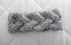 Ravelry: Braided Knit Headband pattern by luluknits