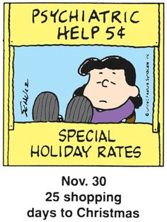 Special Holiday Rates', Lucy and Charlie Brown. Lucy Charlie Brown, Charlie Brown Christmas, Charlie Brown And Snoopy, Snoopy Images, Snoopy Pictures, Peanuts Cartoon, Peanuts Snoopy, Snoopy Cartoon, Snoopy Love