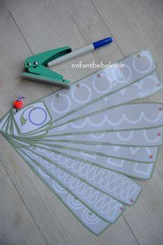 Coucou, Tracer des formes Un exercice de tracer pour les petites sections de maternelles trouvé sur le site http://fiche-maternelle.com . Réglettes que vous pouvez imprimer et le plastifier !