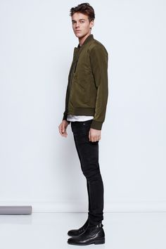 Zadig & Voltaire military kate man bombers