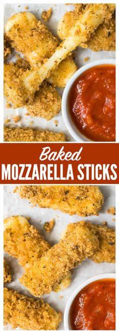 Easy Baked Mozzarell