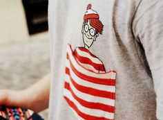 Where's Wally T-shirt Wheres Wally, Expensive Clothes, Buy Shirts, Couture, Menswear, Mens Fashion, Fashion Kids, T Shirts For Women, Ideas