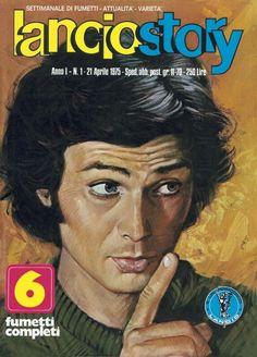 """Il mitico settimanale di fumetti """"Lancio Story"""" 1975"""