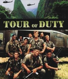 Tour of Duty (1987–1990)  -  Stars: Terence Knox, Stephen Caffrey, Tony Becker.  -  The trials of a U.S. Army platoon serving in the field during the Vietnam War.  -  ACTION / DRAMA /  WAR